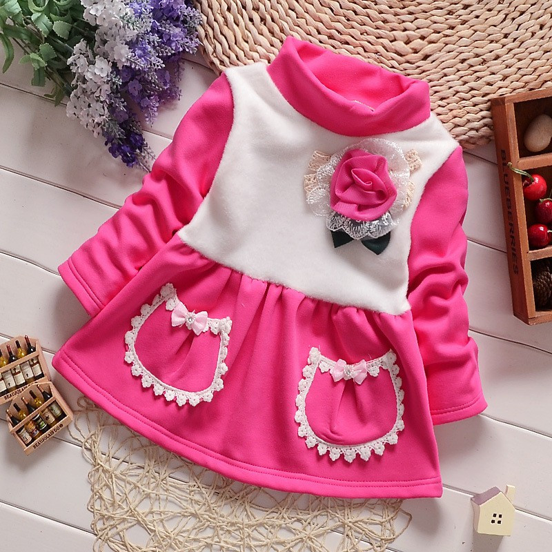 2015 Kids christmas outfits clothes Baby Girls winter