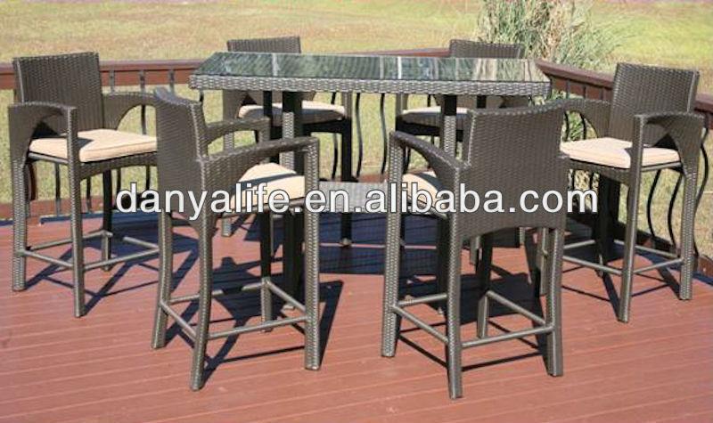 DYBAR-D7604, DANYA Garden Bar Set, Bar Stools & Tables, Outodor Bar Set, Outdoor Furniture, Patio Furniture(China (Mainland))