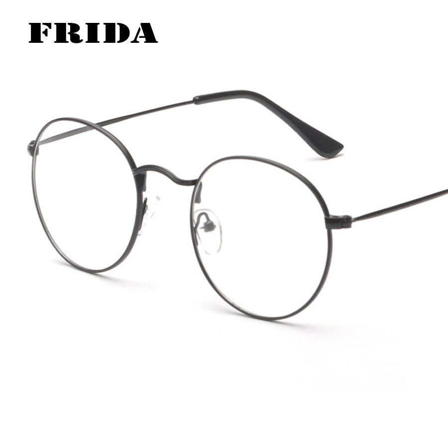 Glasses Frame En : FRIDA 2016 New arrivals Men eye glasses frames Women round ...