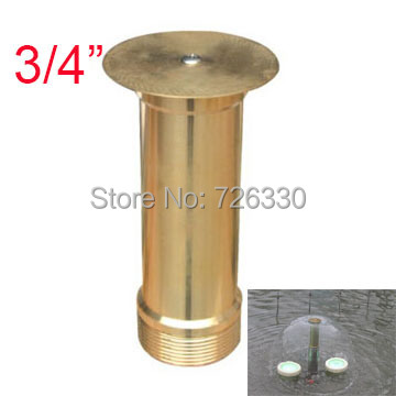 Supply 1pc Emisphere Mushroom Fountain Nozzle G3 4 Dn20