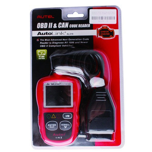 Original Autel AutoLink AL319 Next Generation OBD II / EOBD Auto Code Reader AL319 with free shipping
