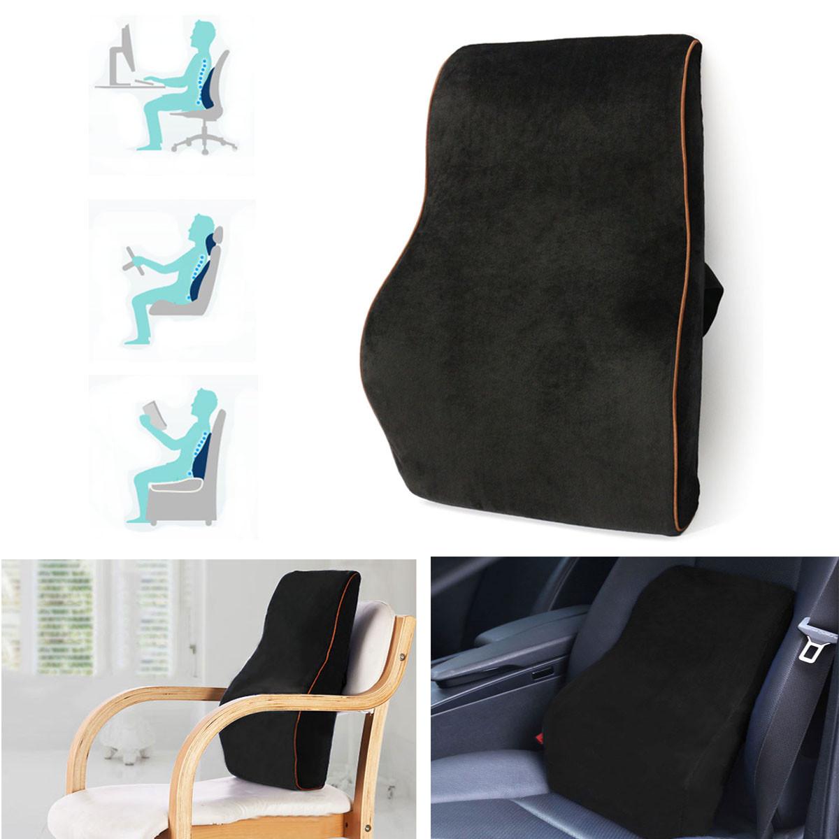 Compra soporte lumbar para silla de oficina online al por for Cojin lumbar silla oficina