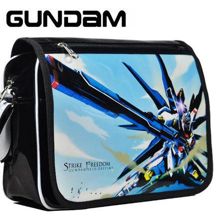 Gundam Bag cosplay Anime Heaven sign Women Bag School Messenger Bags(China (Mainland))