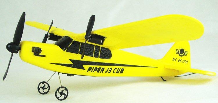 Sea gull EPP HL803 RTF airplane PIPER J3 CUB NC26170 Rc Airplane WL801 upgrade P1(China (Mainland))