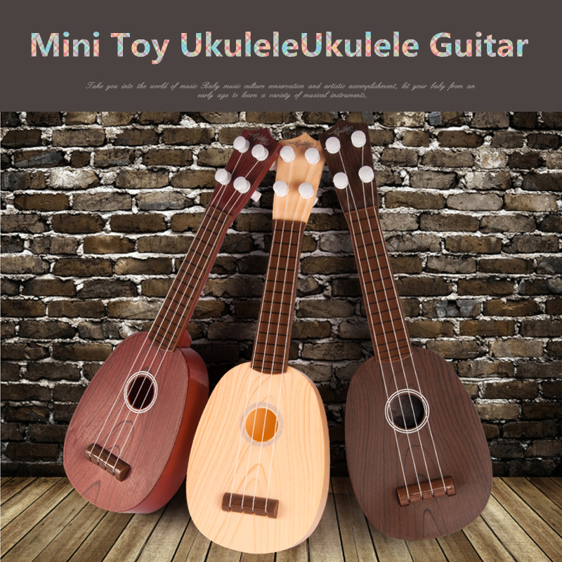 hawaii ukulele toy mini guitar children kids baby puzzle mini musical instrum. Black Bedroom Furniture Sets. Home Design Ideas