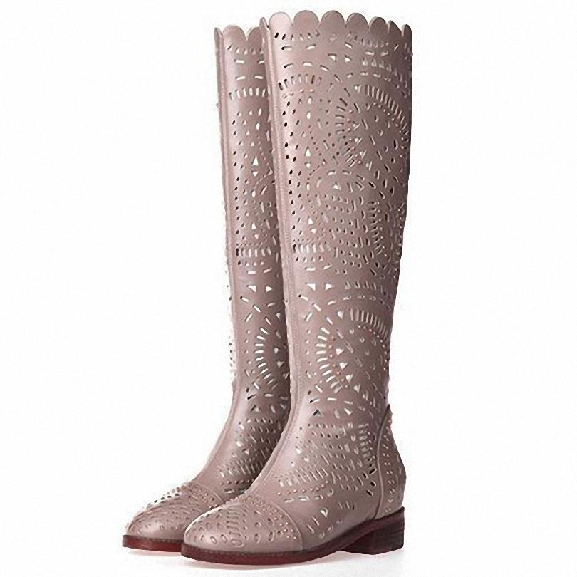 ENMAYER Summer New women boots fashion sexy Women Knee boots Over the knee Platform Knight boots shoes Fashion <br><br>Aliexpress