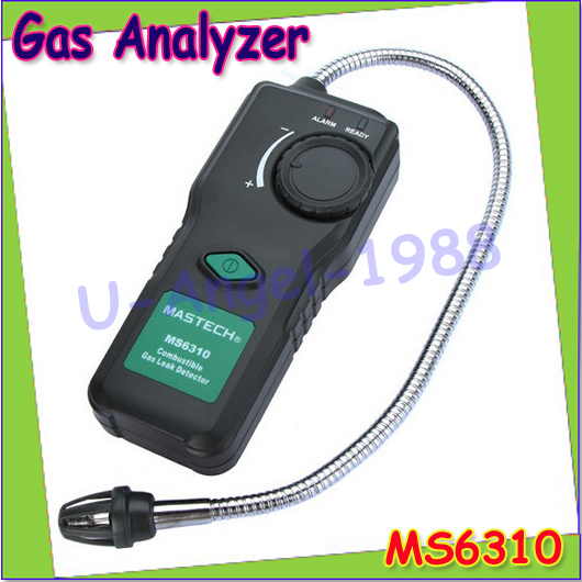 MASTECH MS6310 Portable Combustible Gas Leak Detector Natural Gas Propane Gas Analyzer