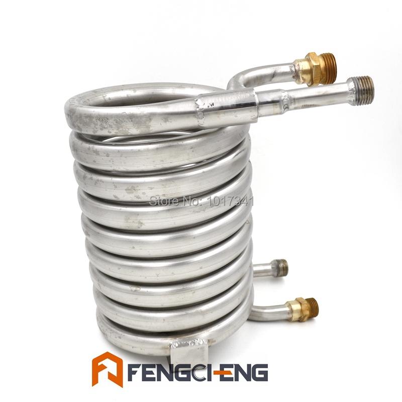Stainless Steel 304 Counterflow Wort Chiller, Brewing Equipment, Garden Hose Fittings(China (Mainland))