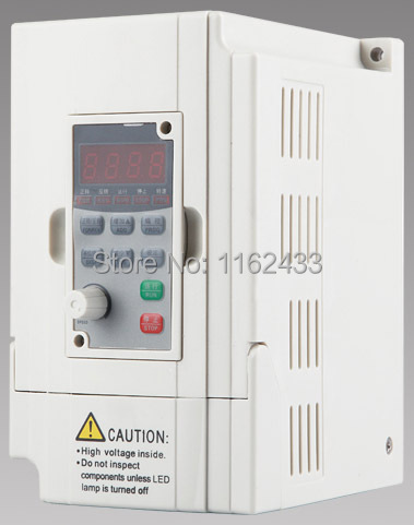 D5M-0.75S2-1A 0.75KW 220V single phase to three phase AC inverter 400Hz VFD variable frequency drive(China (Mainland))