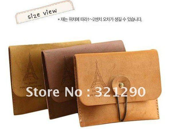 Freeshipping/Romantic Korean Style Retro Tower Velvet Coin Purse/Coin Bag/Simple Handbag The cheapest, fashion