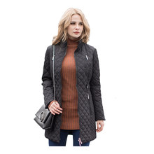 MS Vassa женские парки осень зима новые куртки женские повседневные стеганые пальто плюс размер 5XL 6XL длинная стеганая женская верхняя одежда о...(China)