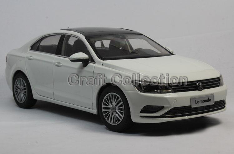 * New White 1:18 Volkswagen VW Lamando 2015 Diecast Model Car Classical Sedan Collection Several Colors(China (Mainland))