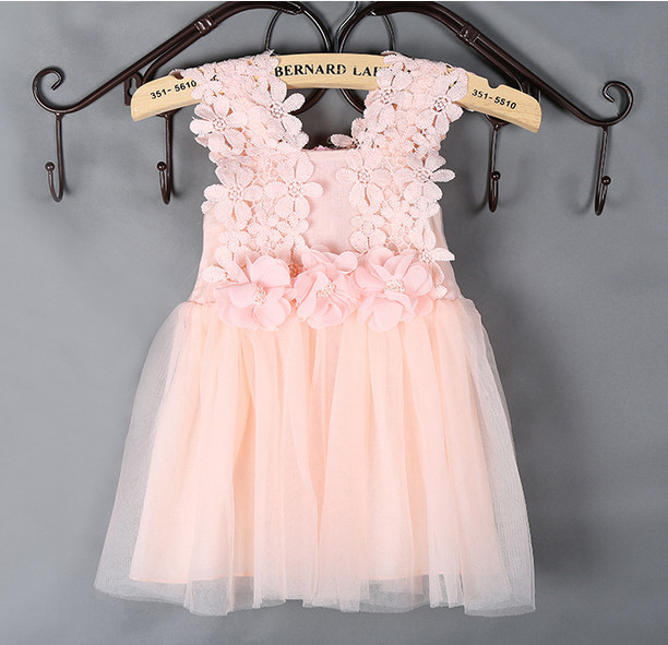 Free shipping Lovely hello kitty Girls Dress Fashion Kids Wedding Party Dresses For 2 to 7 years old Spring summer girl dress(China (Mainland))