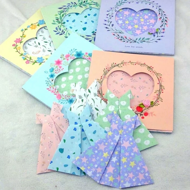 2016 new arrival diy scrapbooking paper origami lucky star for Lucky star folding