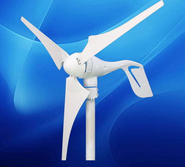 New Energy 400W Wind Turbine Generator with solar hybrid controller 12/24V auto suit for led street light solar light solar lamp(China (Mainland))