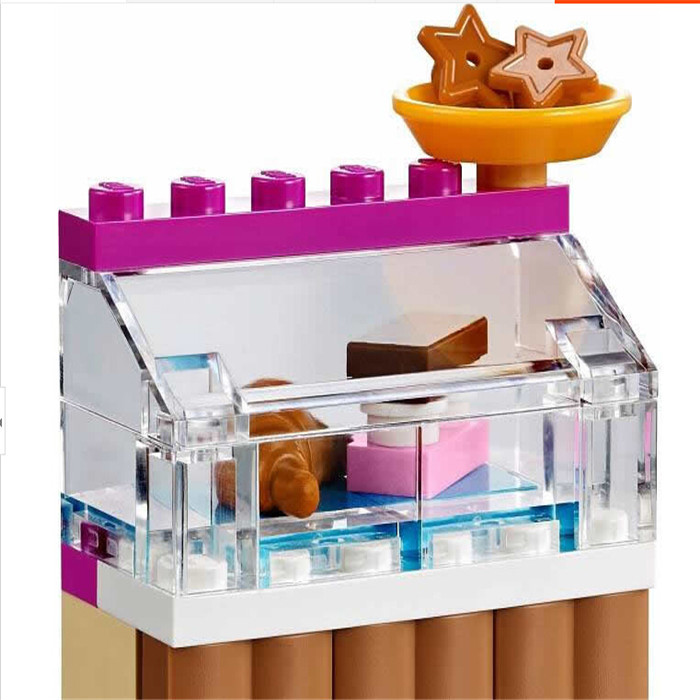 Bela 10165 Friends Series The Girl Ice Cream Shop Action Minifigure Buliding Block Bricks diy Toy Learning Compatible With Lego(China (Mainland))
