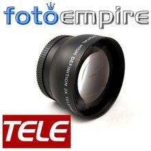52mm 2.0X TELE Telephoto Lens 52 mm 2X  Tele Converter Lens for Nikon D3200 D3100 D5100 D7100 18-55mm Camera()