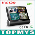 VStarcam NVS K200 4CH NVR Wireless Network Video Server 960P HD WIFI Monitor With 7 inch