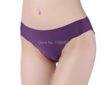 Hot Sale Sexy Underwear Women Fabric Ultra Thin Comfort Seamless Panties Seamless Briefs Everyday Brief Traceless