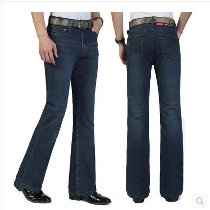 Mens Wide Bootcut Jeans Ye Jean