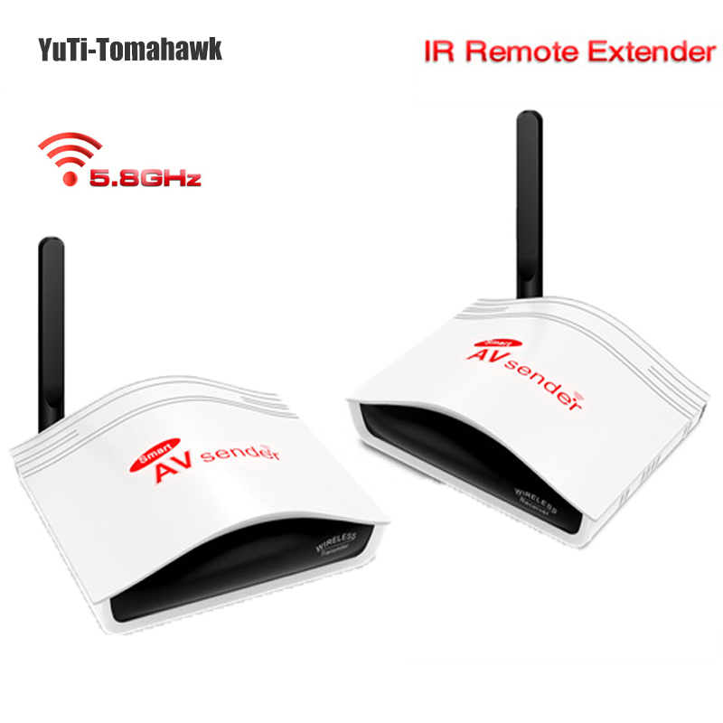 5.8GHz Wireless Smart Digital STB Sharing Device Auido&Video Sender System Support DVD / DVR IPTV CCTV Camera - YuTi-Tomahawk store