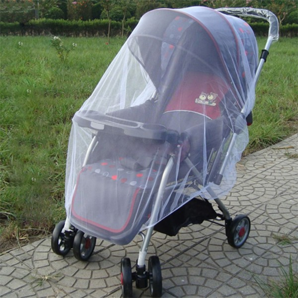 Free Shipping Outdoor Baby Infant Kids Stroller Pushchair Mosquito Insect Net Mesh Buggy Cover