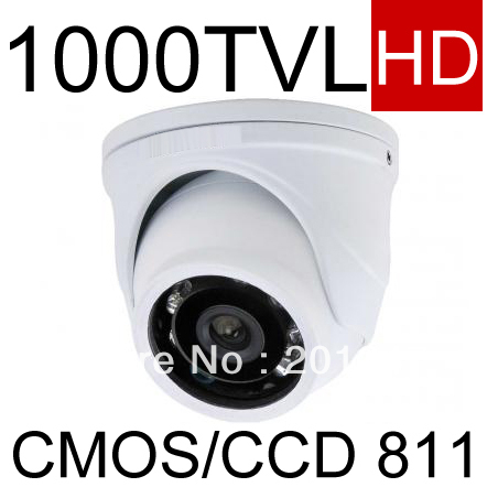 Full HD Mini Dome CCTV Camera IR 1000TVL CMOS Day/Night  IR Security Camera