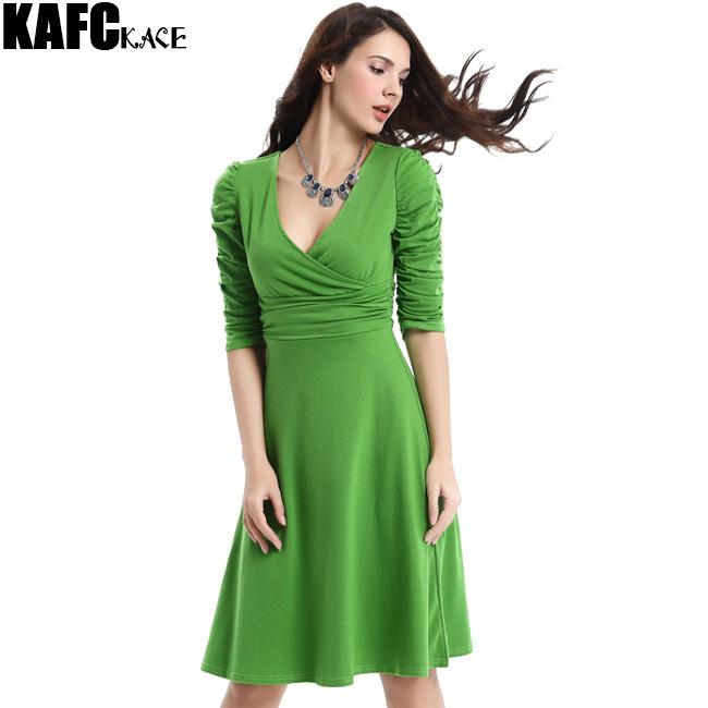 KAFAKACE Deep V-Neck New 2016 Summer Women Dress Mini Dresses Sexy Female Tunics Vestidos Clothes Casual Clothing Elegant Wear(China (Mainland))