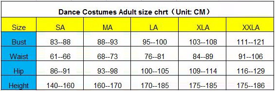 Dance-costumes-adult-size-chart-(CM)