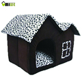 Luxury High End Indoor Pet House Dog Room Beds Cat Beds Removable Pet Puppy Kitten Cat