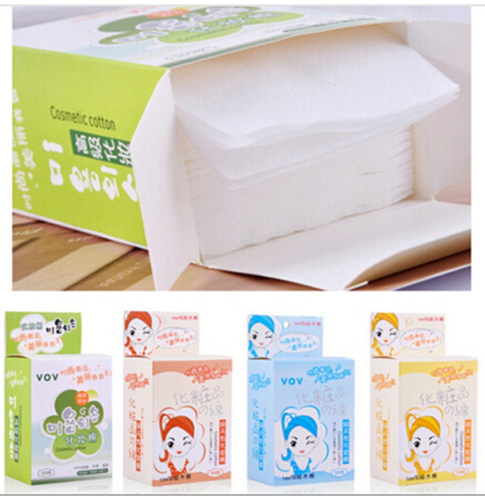 50 pieces/ box Makeup Cleansing Ultrasoft cotton Makeup Remover cleanser makeup remover wipes