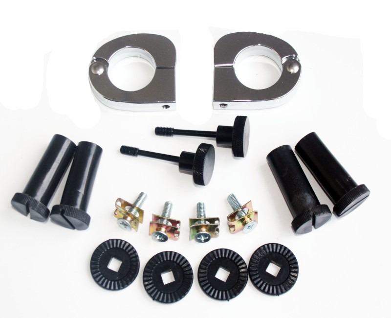 Quick Release Mounting Hardware Set Vented Fairings Kit for Harley 1994-2012 Touring Road King(China (Mainland))