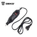 DEKO 220V Electric Dremel Rotary Tool Variable Speed Mini Grinder drill