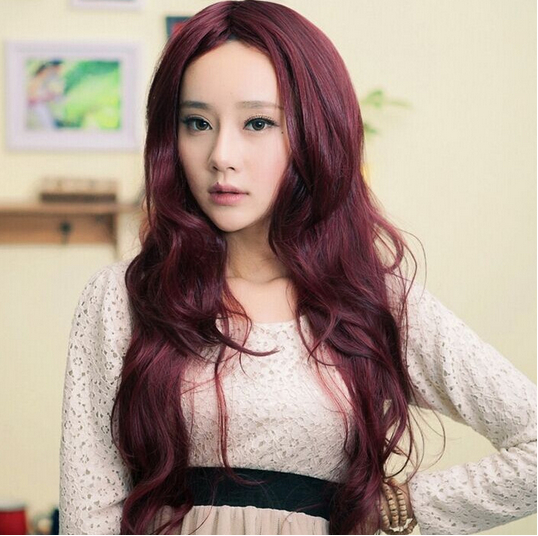 Fashion Korean Online Anime Pink Cosplay Wigs Synthetic Deep Wave Party Kinky Curly 80 Long - HONGYAN JUST DO IT! store