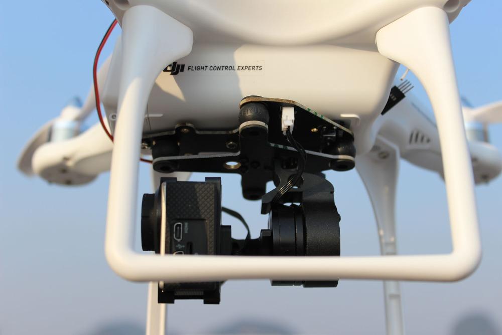 Feiyu Gopro 3 Gimbal 2 AxisBrushless Quadcopter Camera  Gimbal for DJI Phantom including Adapter