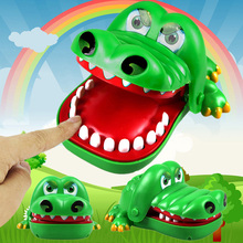 New Baby toys Baby Kids Large Crocodile Mouth Dentist Bite Finger Game Funny Toy Children Gifts Brand Free shipping(China (Mainland))