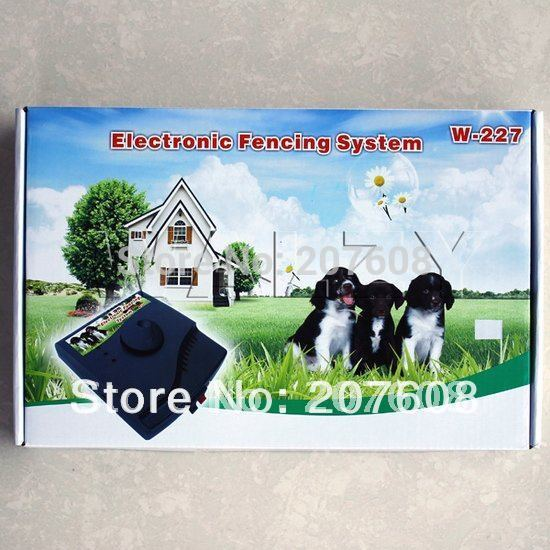 Waterproof Smart Pet dog in-Ground Electronic Fence System with Shocl Collar For 2 dogs