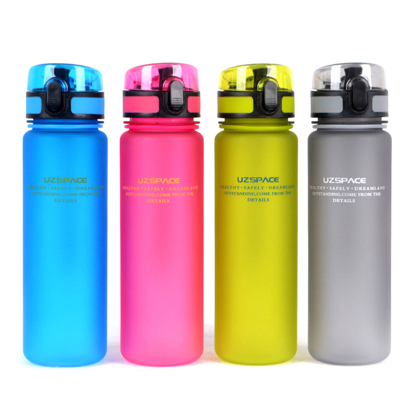 UZSPACE My Favorite Water Bottle (500ml) BPA FREE Plastic Water Cup Portable Lovers Choice For Sports Outdoor School(China (Mainland))