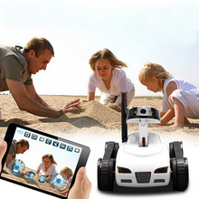 Free shipping 2015 new electronic Wireless Wifi Control RC Tank Toy with Moving Camera – Controlled by iPhone/iPad/iPod