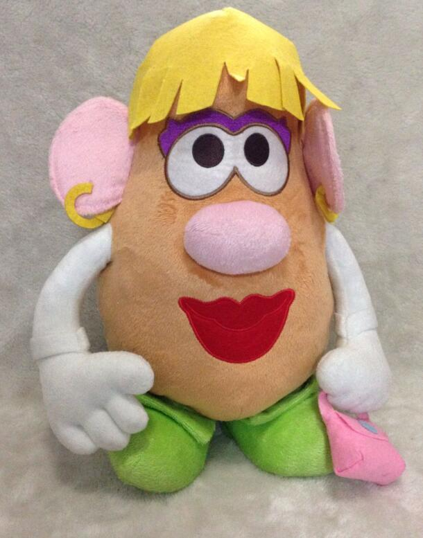 Playskool Toy Story 3 Classic Mrs. Potato Head Plush Toys 40cm(China (Mainland))