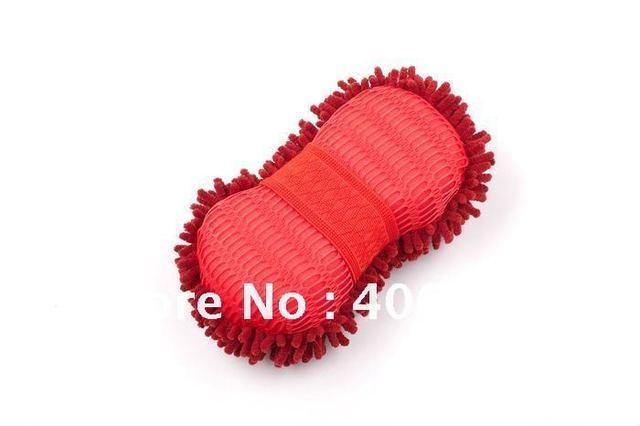 chenille sponge, chenille car wash sponge