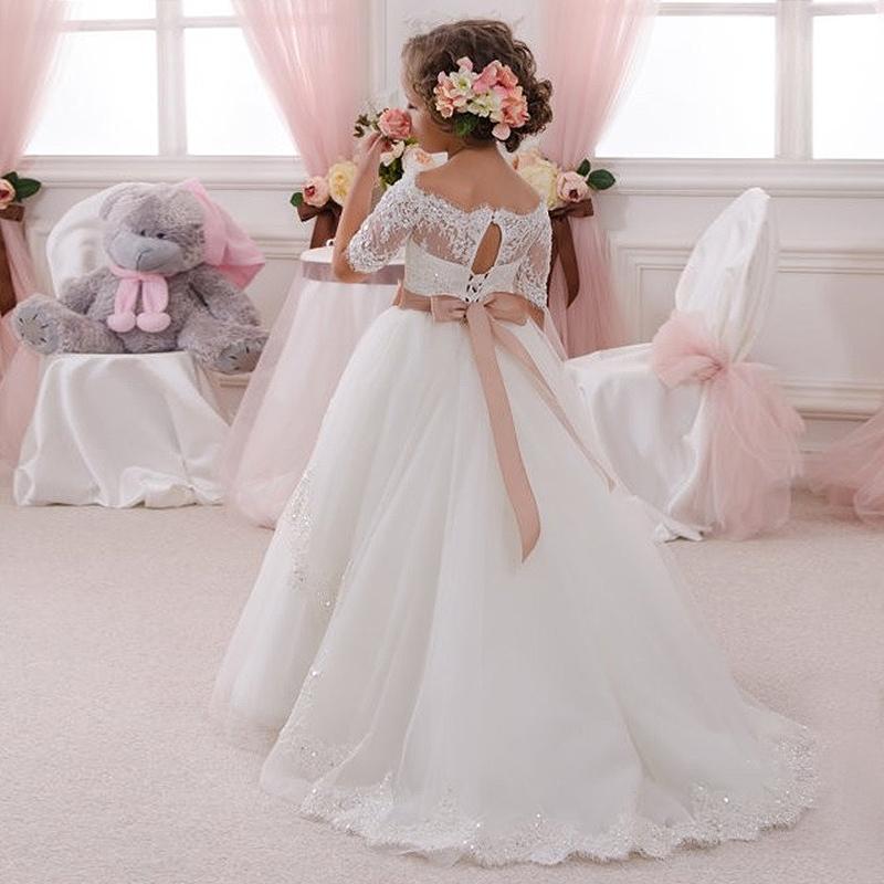 Elegant-Vestido-de-Primera-Communion-Romance-Lace-Up-Off-The-Shoulder-Lace-Appliques-Key-Hole-Soft (1)
