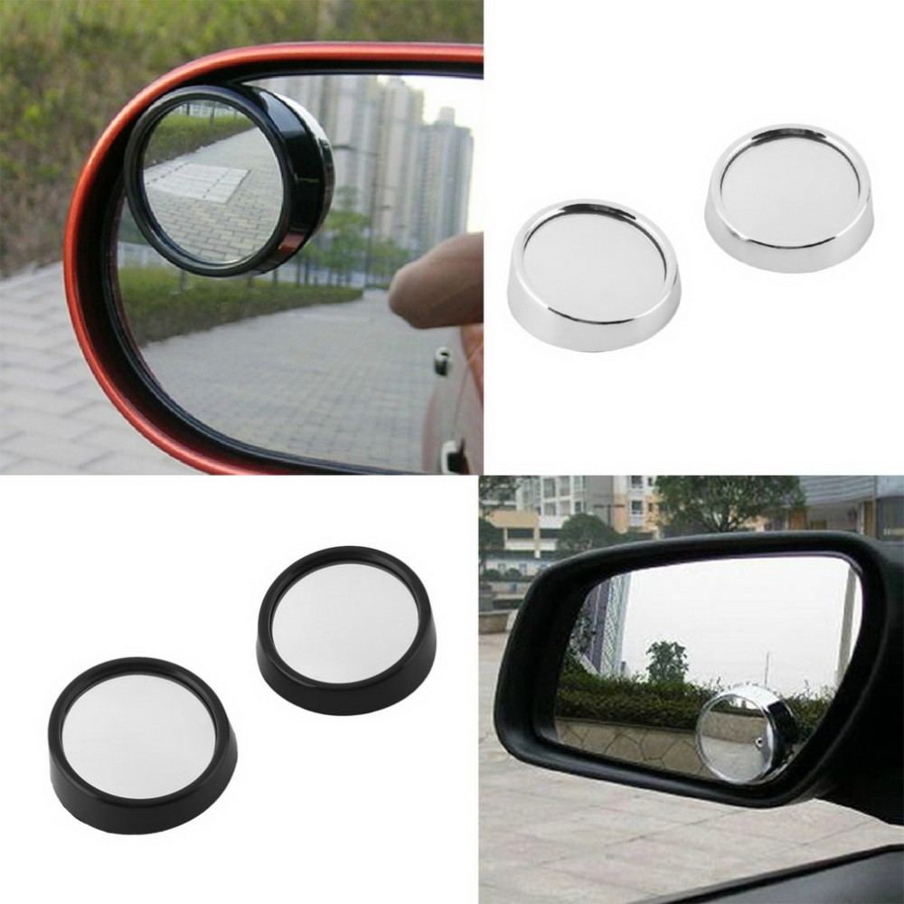 Car Rearview Round Convex Mirror Portecting Driving safety For Chevrolet Lanos Malibu Metro Monte Carlo MW Niva Sail Sonic Spark