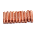20pcs15AK Binzel torch gun consumables MIG wire electric welding tips for the MIG welding machine