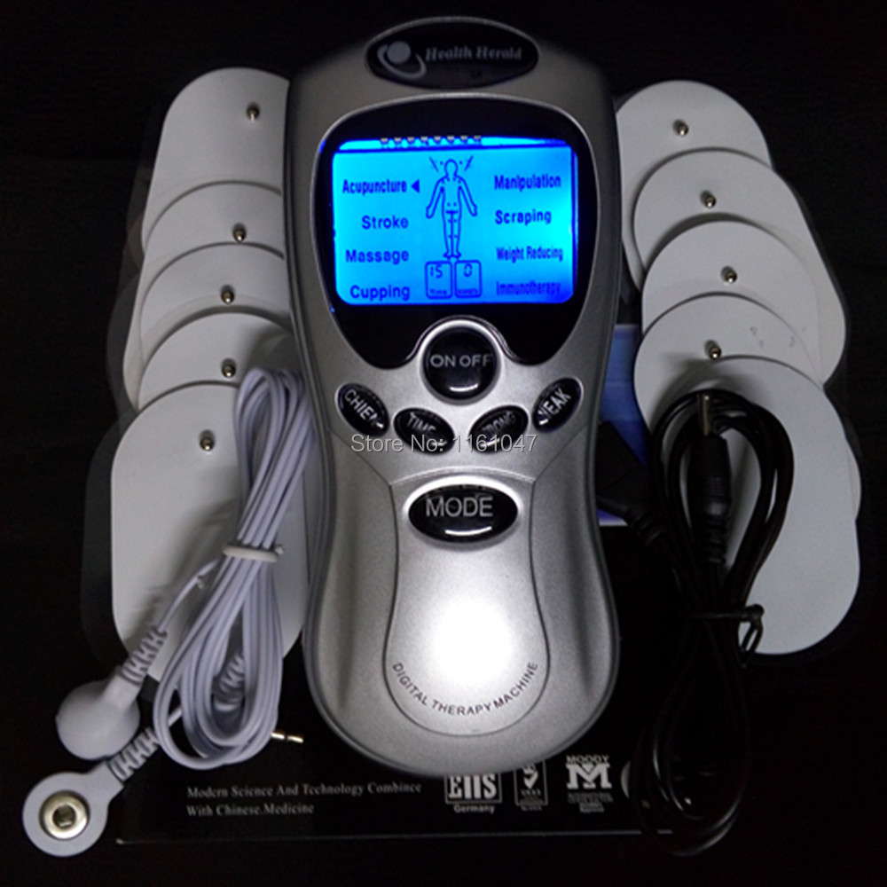 DHL Freeshipping 30pcs/lot Tens Acupuncture Digital Therapy slimming lost weight massage Machine Massager without retail package()