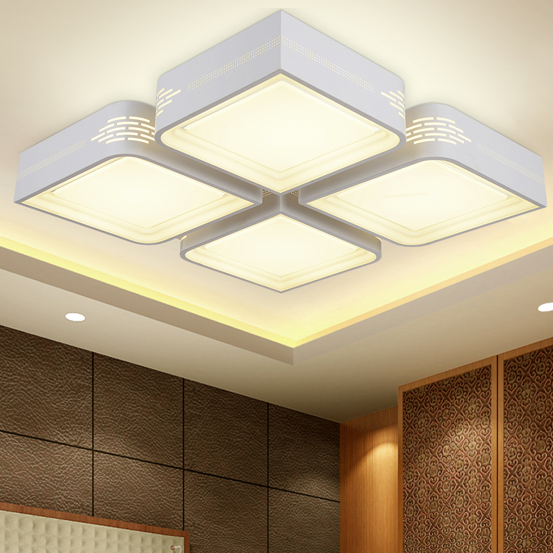 New Ceiling lights led plafonnier luminarias modern living light lampara de techo bedroom lamps for home led lighting fixtures(China (Mainland))