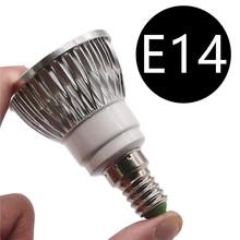 10pcs GU10 MR16 E27 Dimmable Bombillas LED Lamp Lampada LED Spotlight 3W 4W 5W Spot Luz Lamparas LED Bulbs Lighting Aluminum(China)