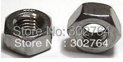 M6X100PCS stainless steel 316,HEX NUT,DIN934,fasterer/marine,boat hardare