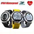 New IP68 Waterproof Smart Watch LINFO F69 Fitness Tracker Heart Rate Monitor Swimming Bracelet For IOS