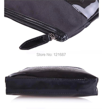 Black Medium Large capacity cosmetic wash bag cosmetic bag hand bag Cosmetic Cases